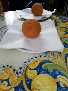 Gli arancini di Caltagirone